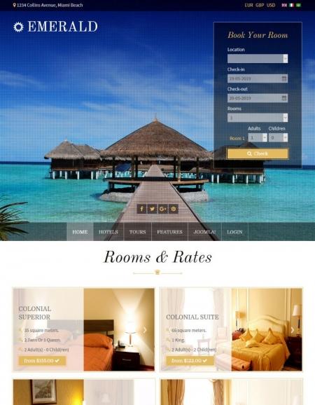 Création Hôtel en ligne