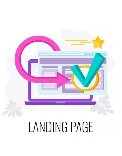 Landing page orientée...